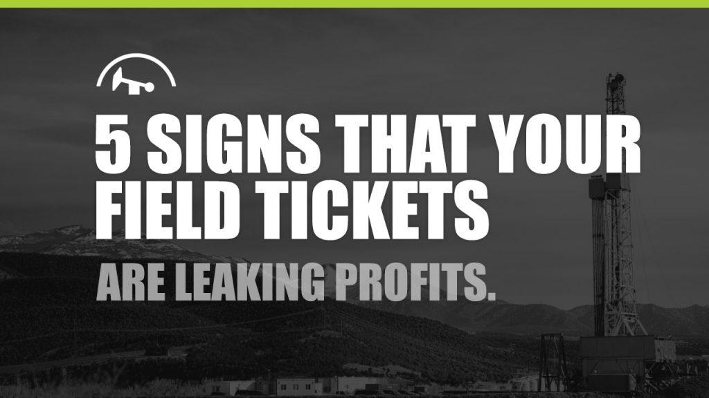 Oilfield Ticketing Software