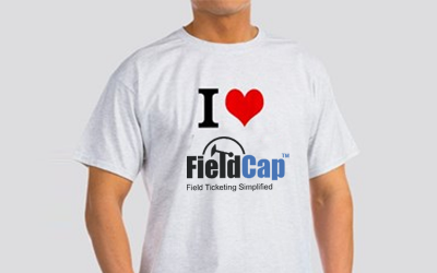 I love FieldCap Inc Field Ticketing