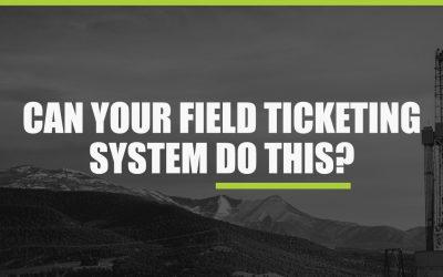 Field Ticket Software